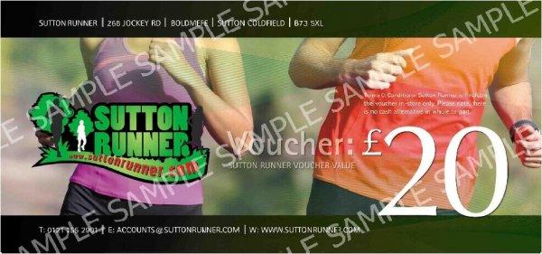 £20 Sutton Runner Gift Voucher-0