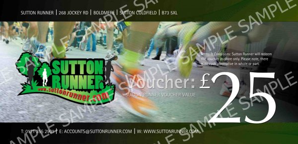 £25 Sutton Runner Gift Voucher-0