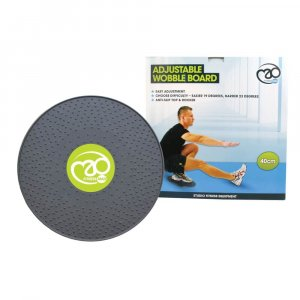 40cm Adjustable Wobble Board Grey-0