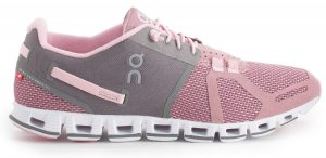 Womens On Cloud Charcoal/Pink-0