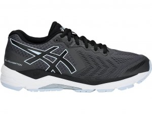 W Asics Gel Foundation 13 Dark Grey/Black-0