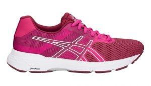 Womens Asics Gel Phoenix 9 Fuchsia Red/White-0