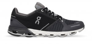 Mens On Cloudflyer Black/White-0