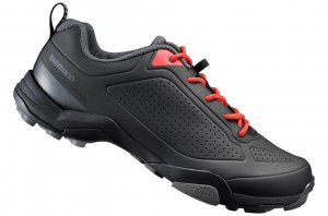 Shimano MT300 MTB SPD Shoes Black-0