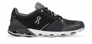 Womens On Cloudflyer Black/White-0