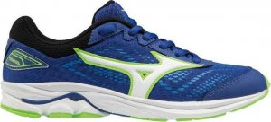 Junior Mizuno Wave Rider 22 Blue-0