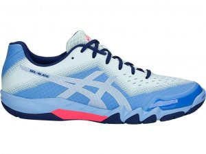 Womens Asics Gel Blade Blue-0