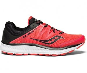 Womens Saucony Guide ISO Red-0