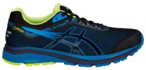 Mens Asics GT 1000 7 GTX Black/Blue-0
