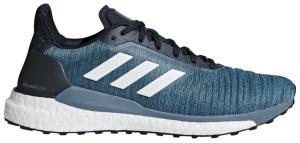 Mens Adidas Solar Glide Black/Grey-0