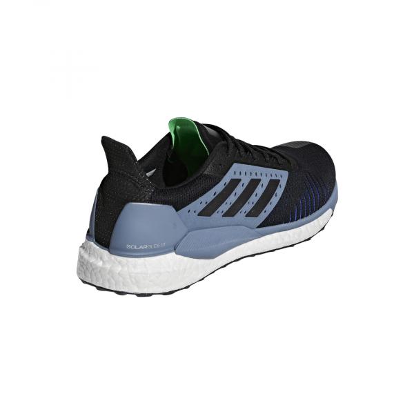 Mens Adidas Solar Glide ST Black/Grey-9323