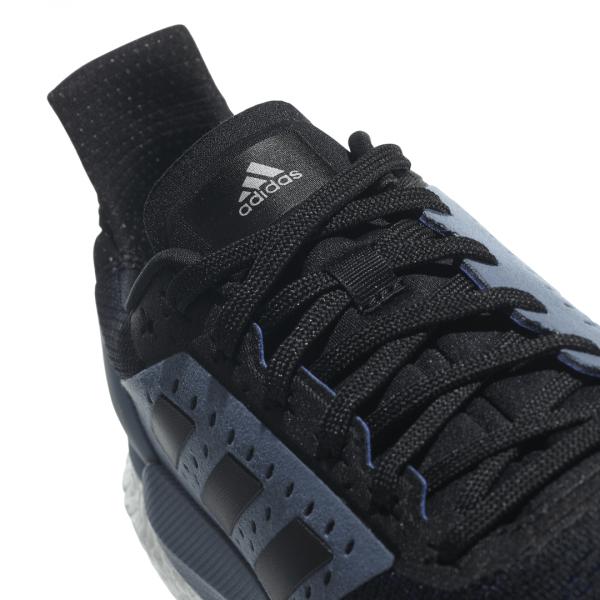 Mens Adidas Solar Glide ST Black/Grey-9324
