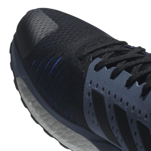 Mens Adidas Solar Glide ST Black/Grey-9325