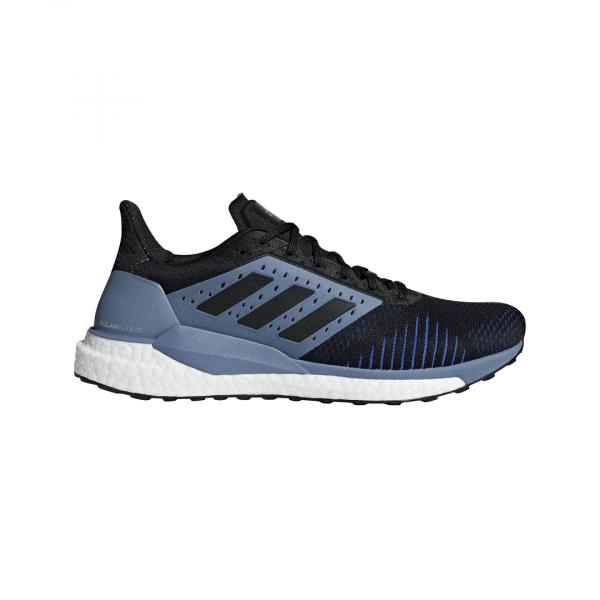 Mens Adidas Solar Glide ST Black/Grey-9329