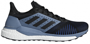 Mens Adidas Solar Glide ST Black/Grey-0