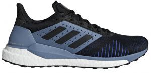 Mens Adidas Solar Glide ST Black/Grey-0