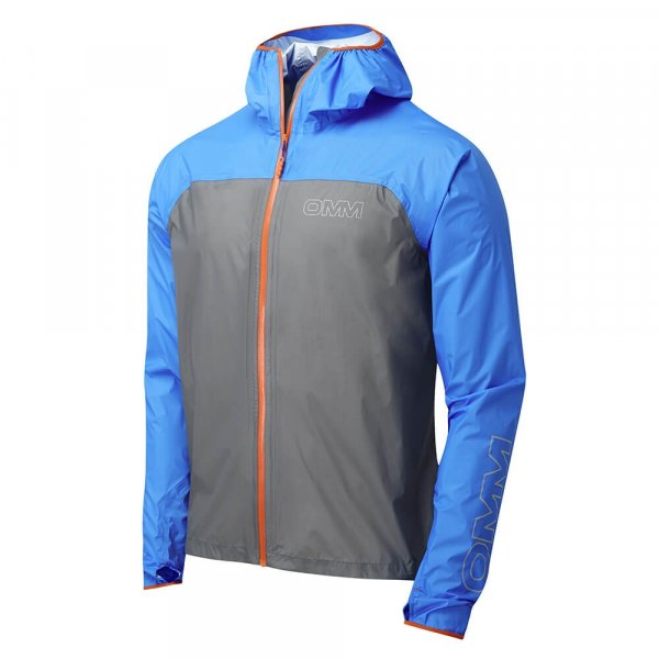 Mens OMM Halo Jacket Blue/Grey-9107