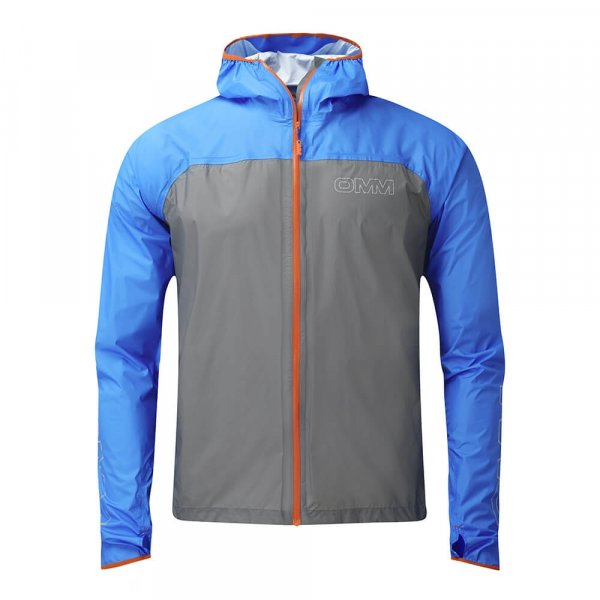 Mens OMM Halo Jacket Blue/Grey-0