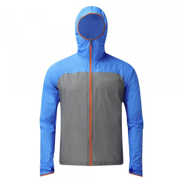 Mens OMM Halo Jacket Blue/Grey-9106
