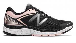 Womens New Balance W860SG8 D Black/Pink-0