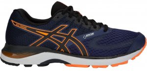 Mens Asics Gel Pulse 10 GTX Blue/Orange-0