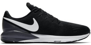 Mens Nike Air Zoom Structure 22 Black-0