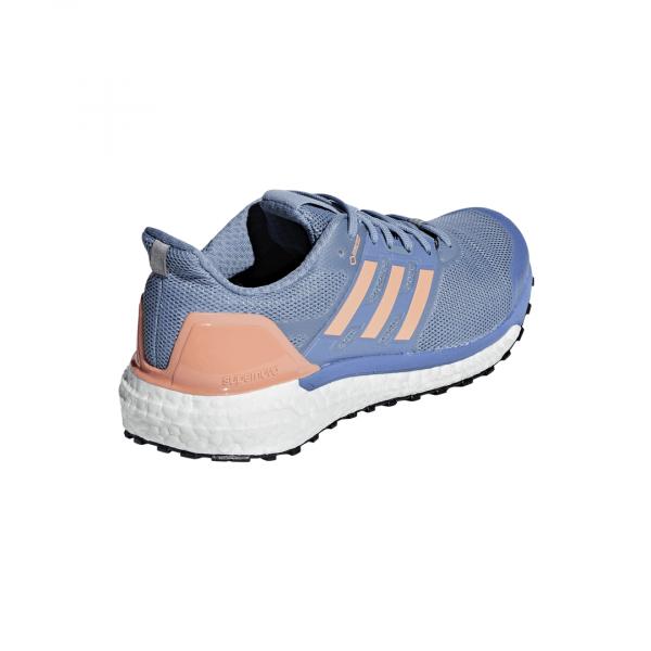 Womens Adidas Supernova GTX Blue/Orange-9274