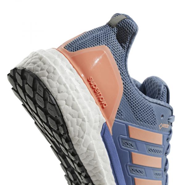 Womens Adidas Supernova GTX Blue/Orange-9275