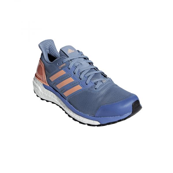 Womens Adidas Supernova GTX Blue/Orange-9277