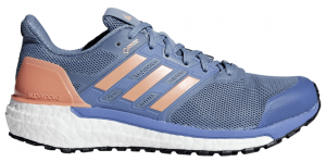 Womens Adidas Supernova GTX Blue/Orange-0