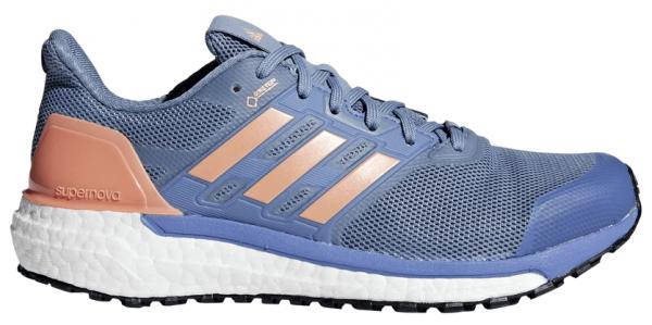 Womens Adidas Supernova GTX Blue/Orange-0