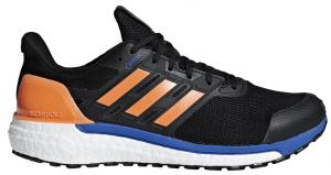 Mens Adidas Supernova GTX Black/Orange-0