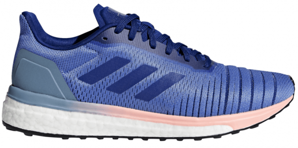 Womens Adidas Solar Drive Blue/Pink-0