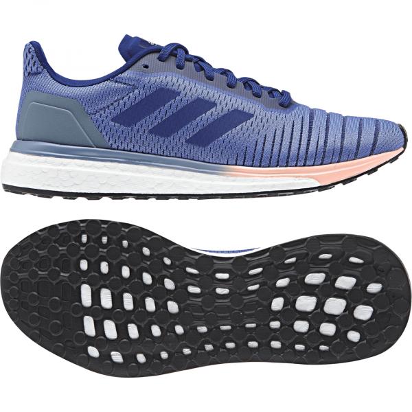 Womens Adidas Solar Drive Blue/Pink-9193