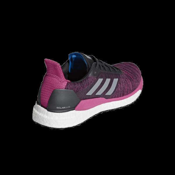Womens Adidas Solar Glide Pink/Black-9178