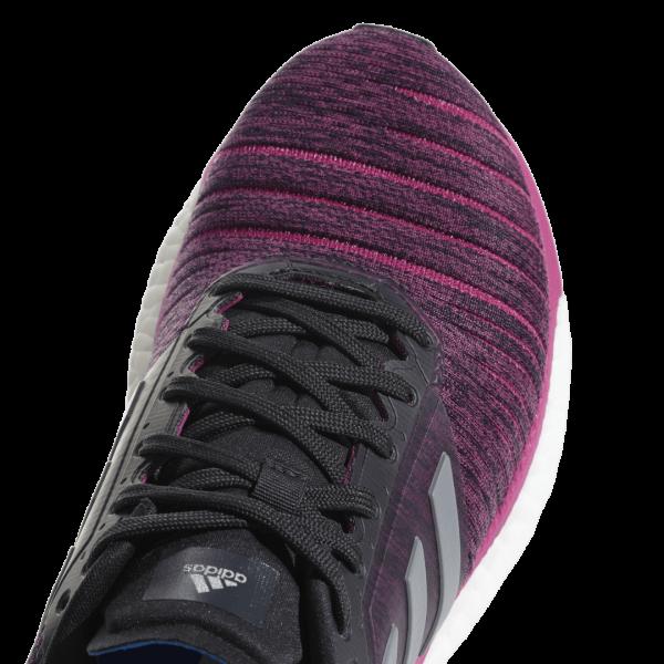 Womens Adidas Solar Glide Pink/Black-9180