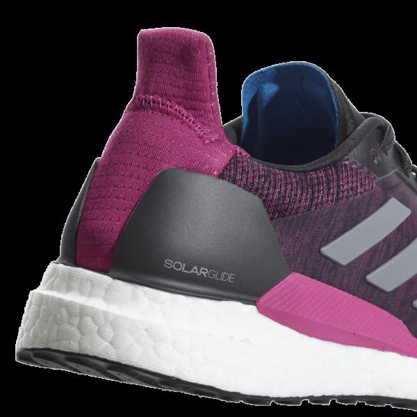 Womens Adidas Solar Glide Pink/Black-9181
