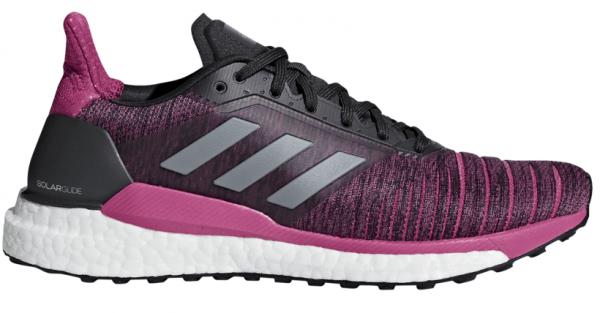 Womens Adidas Solar Glide Pink/Black-0