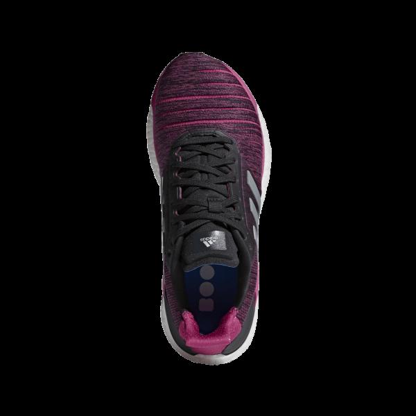 Womens Adidas Solar Glide Pink/Black-9187