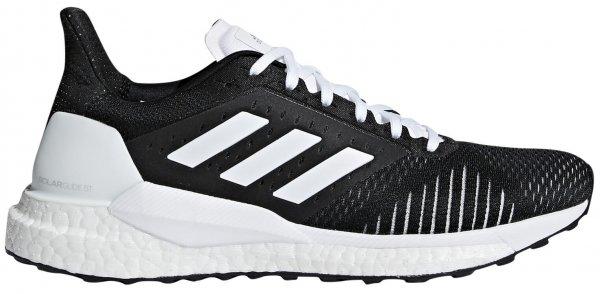 Womens Adidas Solar Glide ST Black/White-0
