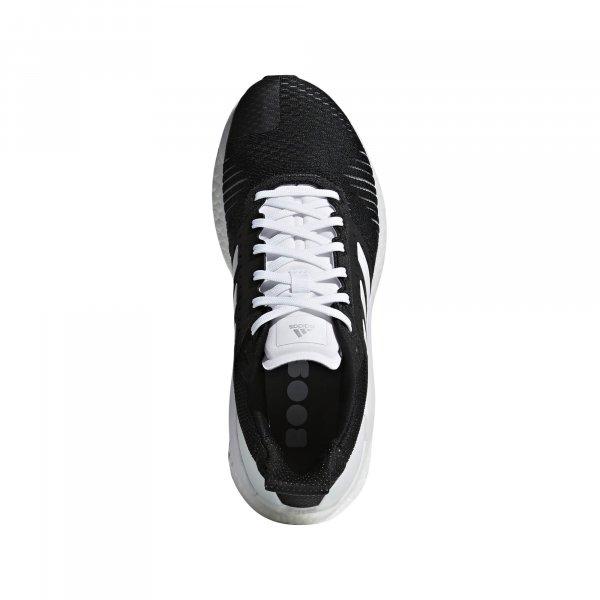 Womens Adidas Solar Glide ST Black/White-9227