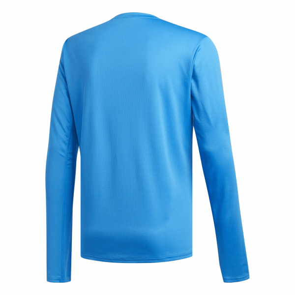 Mens Adidas Response LS Tee Blue-9335