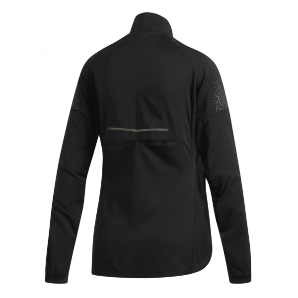 Womens Adidas Supernova Jacket Black-9353