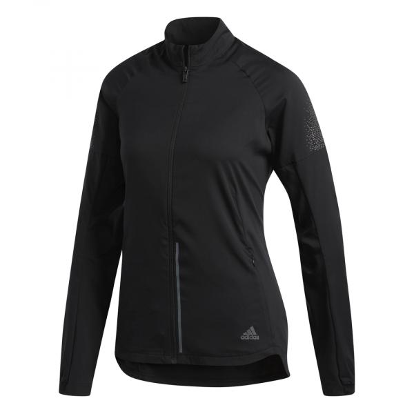 Womens Adidas Supernova Jacket Black-0