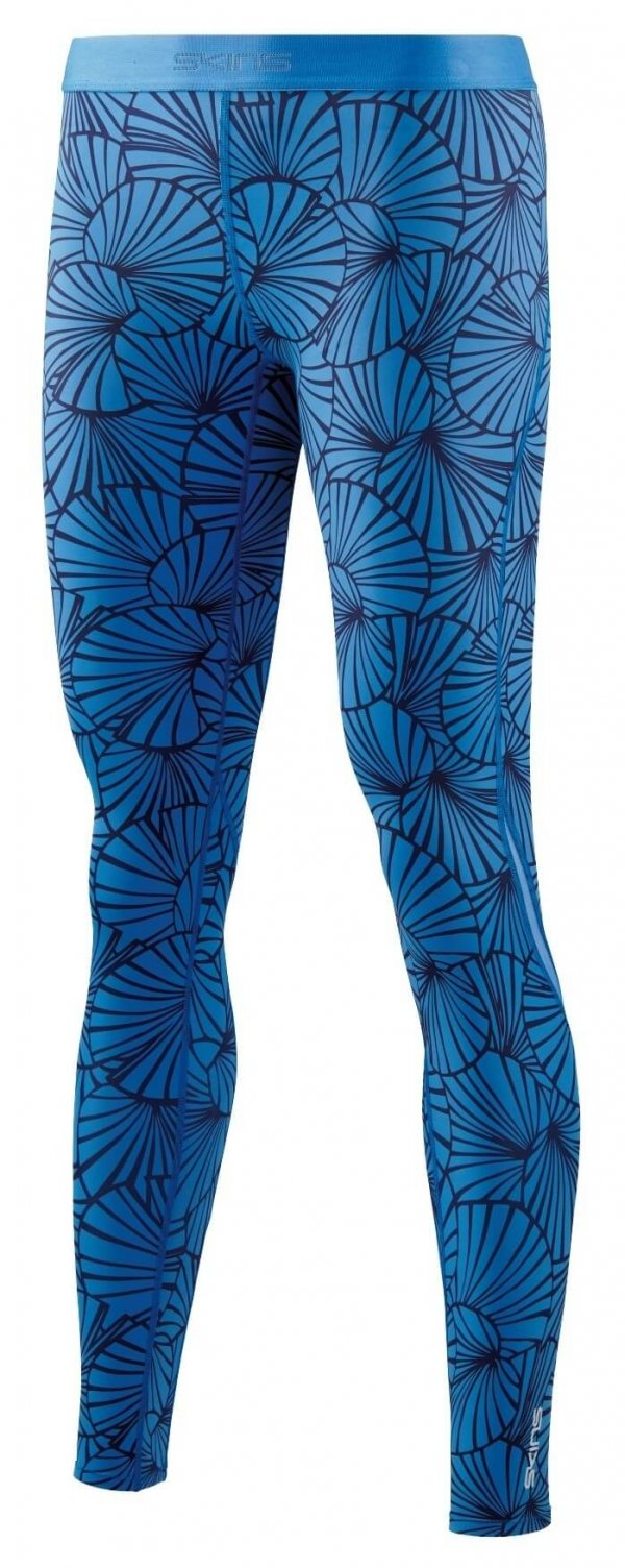 SKINS DNAmic Womens Long Tights SF Blue-0