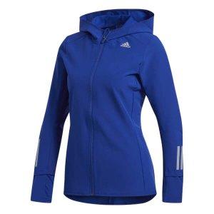 Womens Adidas Response Jacket Blue-0