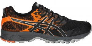 Mens Asics Gel Sonoma 3 Black/Orange-0