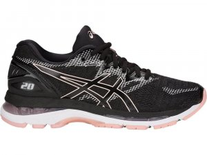Womens Asics Gel Nimbus 20 Pink/Black-0