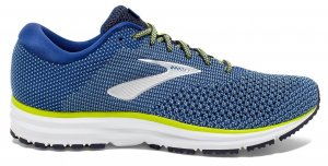 Mens Brooks Revel 2 Blue/Yellow-0