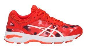 Junior Asics Gel Netburner Pro GS Red-0